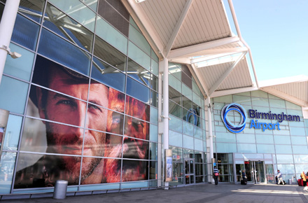 Birmingham Airport which Flybe will connect to southeast Ireland with daily flights to/from Waterford commencing on March 25. Bookings and further information at www.flybe.com